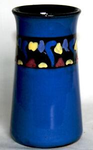 Vintage Small Torquay Ware Vase - Lemon & Crute