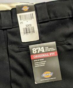 Dickies 874 Work Pants - Original Fit Black 32 x 32