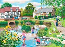The House Of Puzzles - 250 BIG PIECE JIGSAW PUZZLE - Duck Pond Big Pieces
