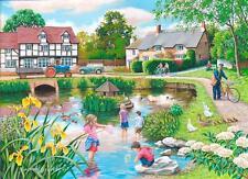 La House of Puzzles - 250 GRANDE Pezzo Puzzle-Duck Pond grandi pezzi