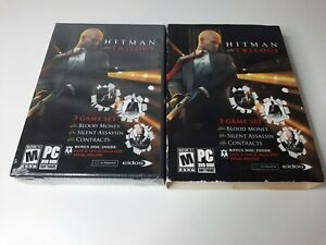 Hitman Trilogy Brand New Factory Sealed  (PC, 2007) Please Read