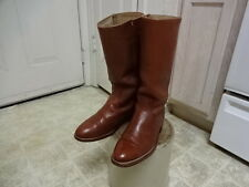 VINTAGE FRYE MOTORCYCLE BOOTS GREAT CONDITION NOT MUCH USED MEN 9 D MADE IN USA