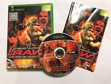 ORIGINAL XBOX wrestling GAME WWE RAW 1 I +BOX & INSTRUCTIONS / COMPLETE PAL