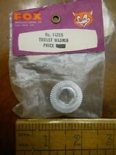 FOX #14509 THRUST WASHER FOR .40 & .45 MODEL AIRPLANE ENGINES (NEW IN PACKAGE)