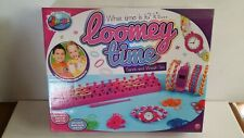 Loomey Time Bands And Watch Set Kids Craft Make Own Watch Band Bracelets, NEW