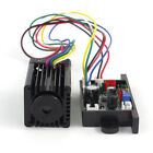 520nm 100mW Green Dot Laser Module Diode Stage Lighting Long Duty 12VDC TTL