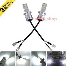 H3 CREE LED Fog Light Bulb Conversion Kit Super Bright Canbus 6000K White 35W PO