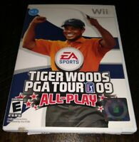 Tiger Woods PGA Tour 09: All Play (Nintendo Wii, 2008) - Tested/Works