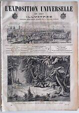 L'Exposition Universelle Illustrée n°31- 1867 : Paysage du roi de Suède