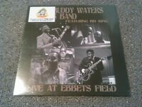 THE MUDDY WATERS BAND FEAT. BB KING - LIVE AT EBBETS FIELD LP MINT SEALED!! 180G