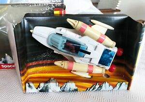 Vintage 70s Dinky Space Battle Cruiser 367 boxed with firing missiles (working)