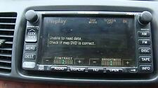 TOYOTA CAMRY RADIO/ CD PLAYER / SAT NAV UNIT, SK36, 08/02-05/06