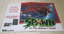 1999 Capcom Spawn Promo Display
