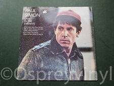 "Paul Simon Late in the Evening Original UK 7"" single EX/G"