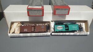 2 Ho IMWX New York Central  NYC 40' AAR Box Car Kits.