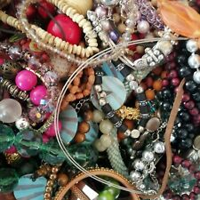 Joblot Mixed Costume Jewellery 1kg Kilo Bundle Resell All Different Craft Wear