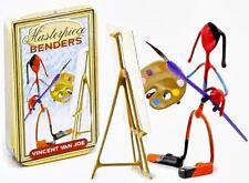 (2) Vintage Toy Vincent Van Joe-Masterpiece Benders
