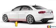 Neu Original Audi A4 B8 2008-2016 S-LINE Seite Rock Zierleisten Grundiert L/S