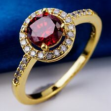 High Quality Noble Style Huge C.Z Women LADY White Gold Plated Rings