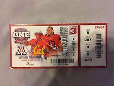2014 Football Ticket Stub Arizona vs California
