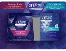 Crest 3D White Whitestrips Advanced & 1 Hour Express (Combo Pack) New In Box!!