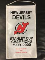 New Jersey NJ Devils 1999-2000 Stanley Cup Champions Mini Banner SGA
