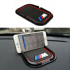 For BMW Auto Car Phone No Slip Silicone Pad ///M Holder Mounts GPS Sat Mat *1pc