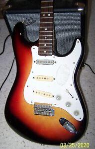 Vintage 1970's Aspen Electric Guitar