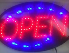 Ultra Bright Led Neon Style Light Animated Motion Open Business Sign 3 Modes