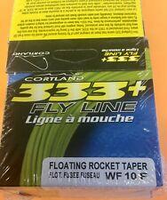 Cortland 333+ Wf10F Floating Rocket Taper - New