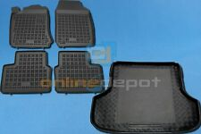 Gummi-Fußmatten+Kofferraumwanne OPEL VECTRA B Caravan Kombi 1995-2003