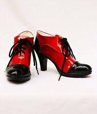 Kuroshitsuji Black Butler Grell Sutcliff Cosplay Costume Shoes Boots HOT