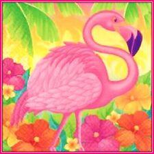 30 Custom Pink Flamingo Art Personalized Address Labels