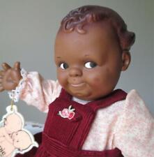"~ 11"" Vinyl Cameo Kewpie Black Scootles Girl Doll (Jesco) ~"