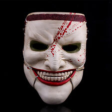 Death Of The Family Mask scary Joker adult Halloween prop Fancy Dress Cosplay
