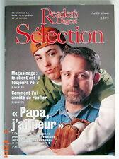 SÉLECTION DU READER'S DIGEST DE AOÛT 2000, EN COUVERTURE PAPA J'AI PEUR