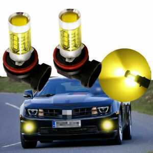 2pcs 60W LED Fog Light Bulb Kit 9006 4300K for 2006-2010 Lexus IS250 / IS350
