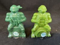1990 Mirage Studios TMNT Teenage Mutant Ninja Turtles Bubble Gum Mich/Raph D1