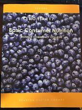 Basic Consumer Nutrition (BIO/FSA 117) Monroe Community College Textbook