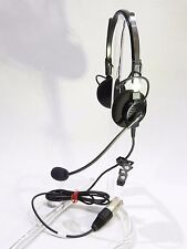 BRAND NEW TELEX AIRMAN 750 HEADSET for AIRBUS p/n 64300-210  FULL WARRANTY