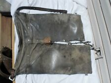 Used Timber Cutting Logging Leather Welding Chaps Pants