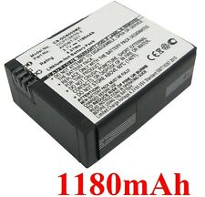 Battery 1180mAh Type 1ICP7/26/33-2 AHDBT-201 for Go pro HD Hero3 Black Edition