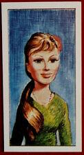 STINGRAY - Card #05 - MARINA (B. Bardot) - CADET SWEETS (1964) - Gerry Anderson