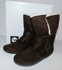Roxy Oslo Brown Boots Size 7.5 Brand New
