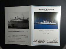 Motorschiff MONTE ROSA von 1930  1/250 Passat Verlag limitiertes Modell