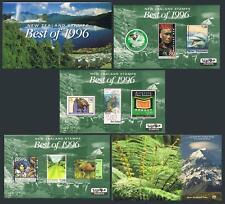 New Zealand 1404 note:Best of 1996,3 souvenir sheets,MNH