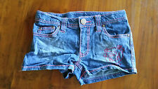 Target Little Miss Giggles denim shorts sz8 preowned free post D92