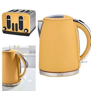 fast boil kettle and 4 slice toaster set