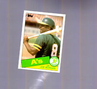 1985 Topps #352 Joe Morgan Oakland A's Athletics HOF Cincinnati Reds Player ESPN
