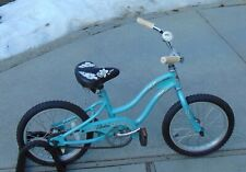"Electra Hawaii Youth 16"" Girls Beach Cruiser Bike Bicycle Blue"